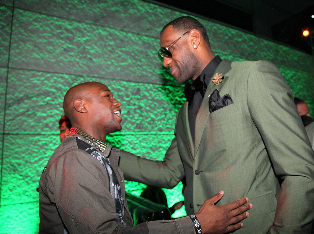 Floyd Mayweather LeBron James
