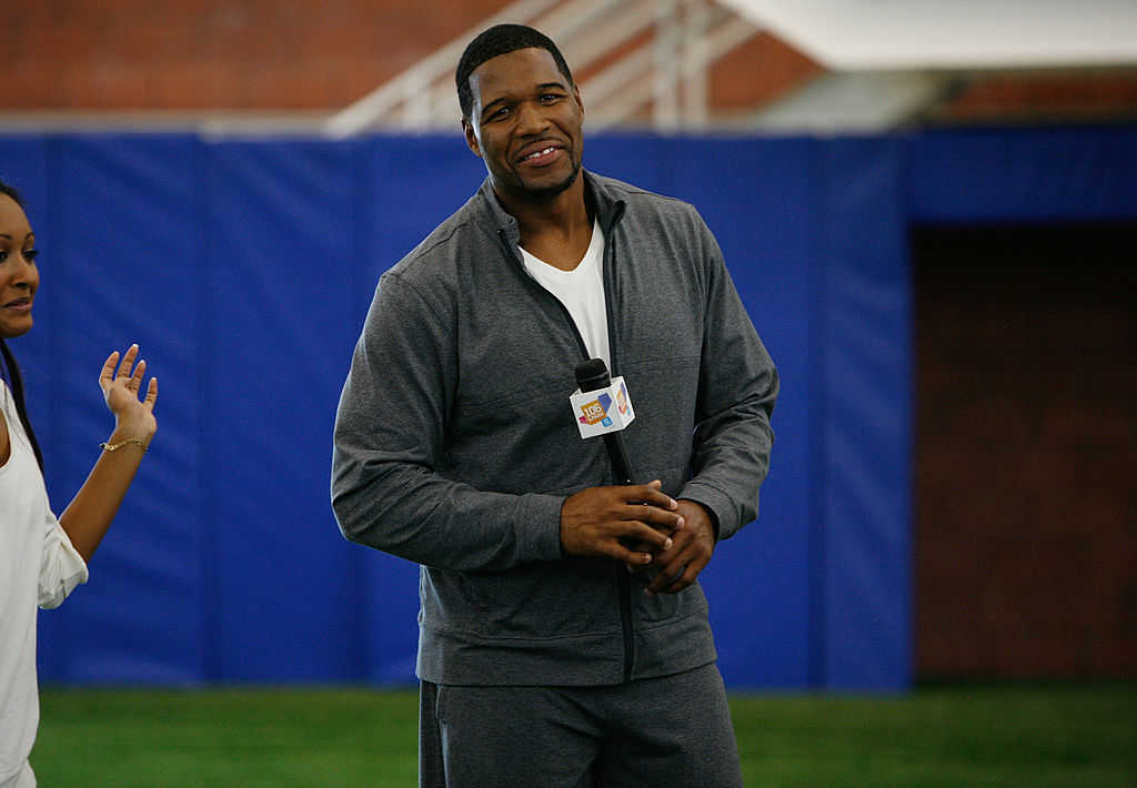 Former NY Giant Michael Strahan in 2009