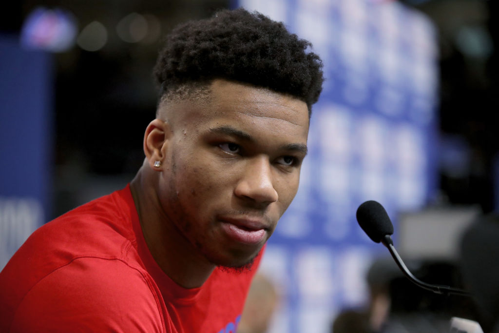 Giannis Antetokounmpo took part in a conversation about community service with former President Barack Obama.