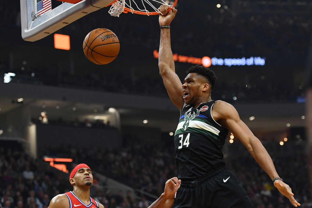 Giannis Antetokounmpo is a new dad, but he still wants to win an NBA championship.
