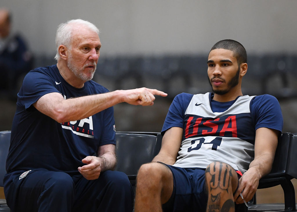Gregg Popovish is a great NBA talent evaluator, and he believes the Celtics' Jayson Tatum could be as good as Kawhi Leonard and Paul George.