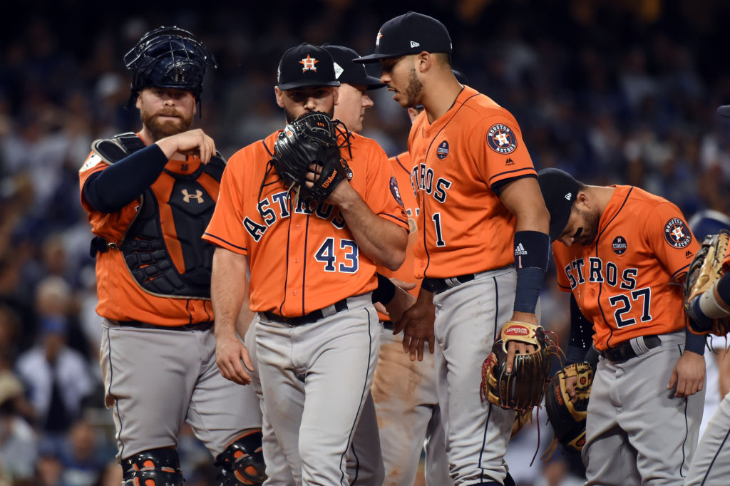 Major League Baseball doesn't want the Houston Astros to be the target of physical retribution.