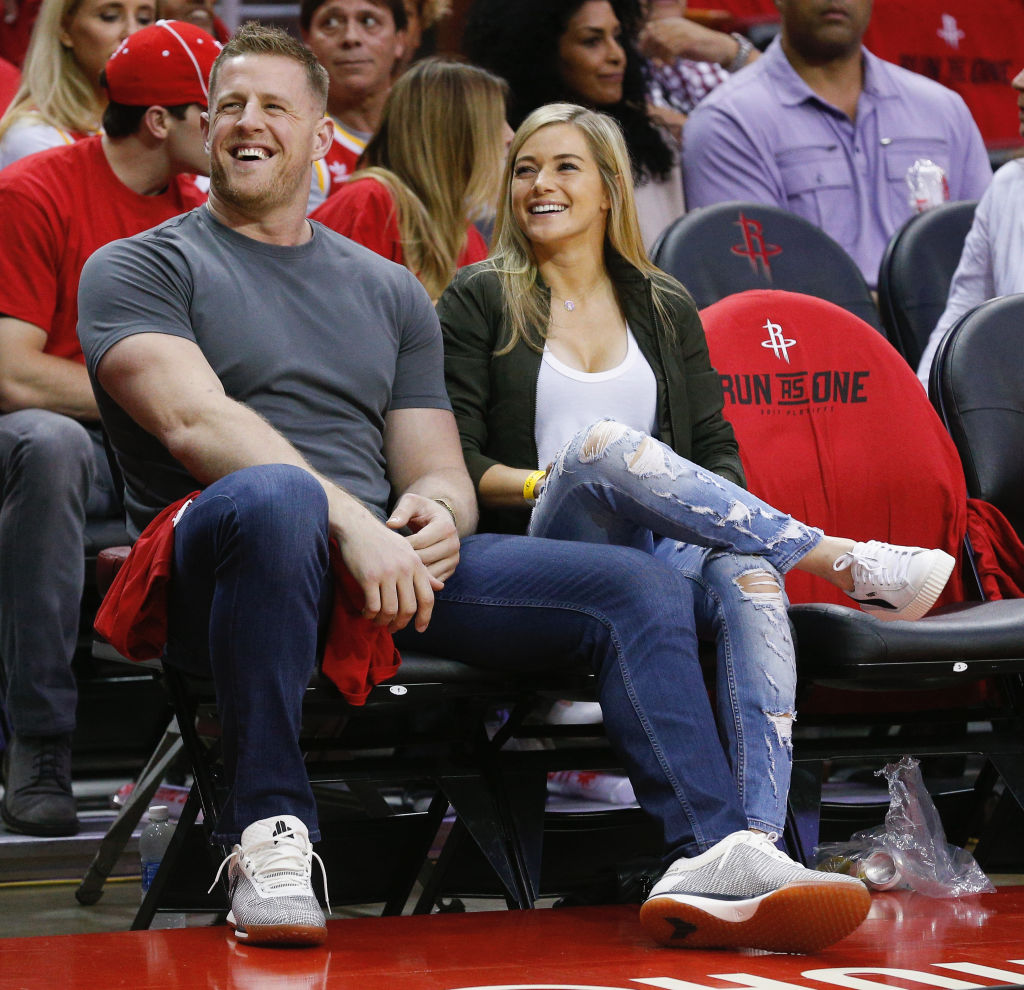 J.J. Watt's New Wife Is Also a Professional Sports Star