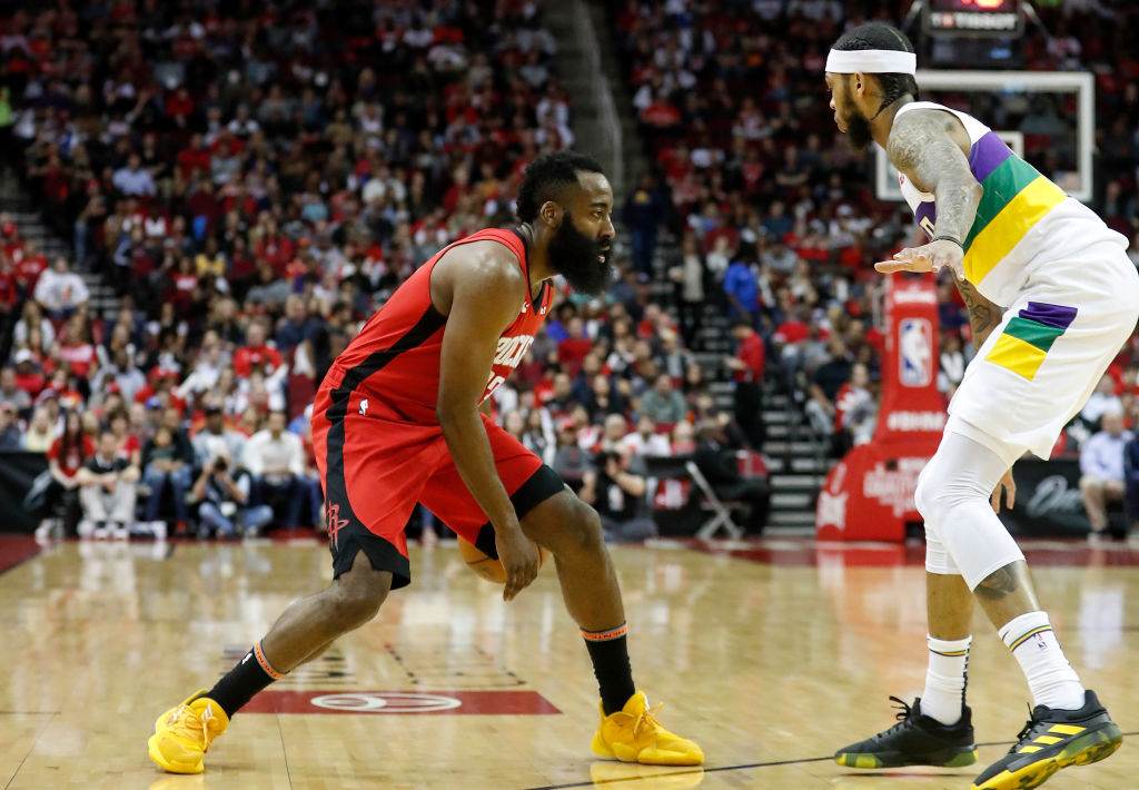 Purists might not like James Harden's isolation offense, but he compared it to some historic greats.