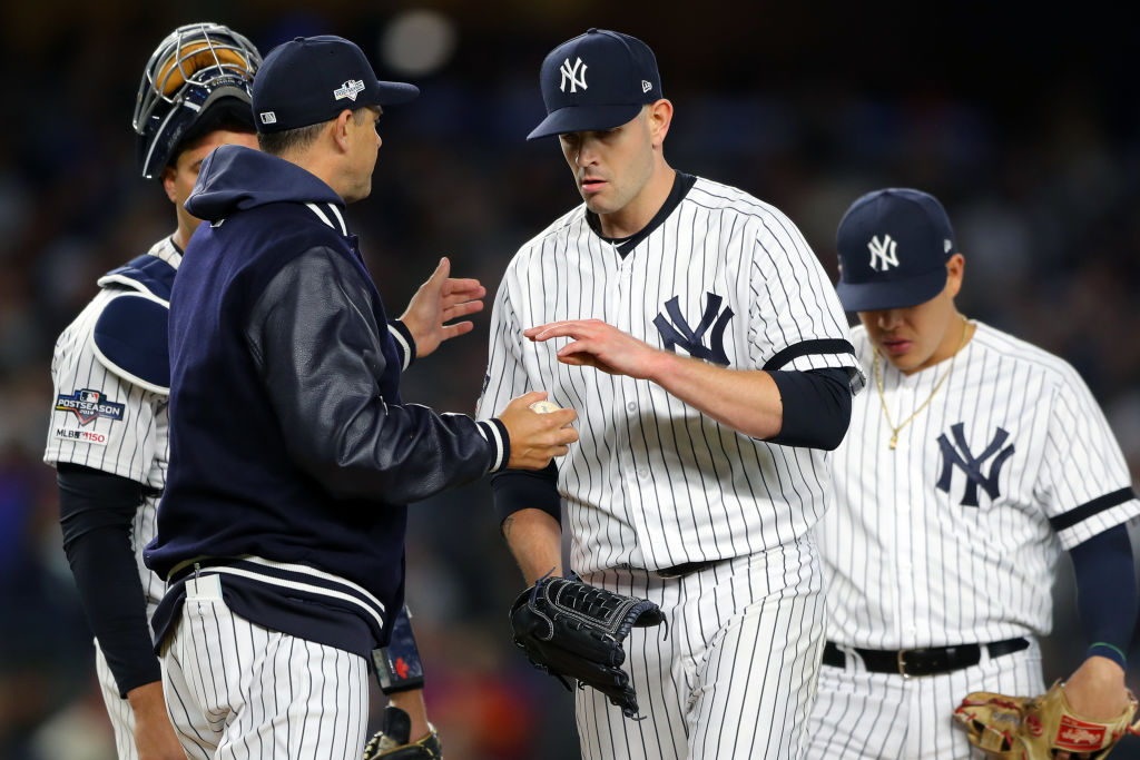 Having back surgery, like the kind Yankees' pitcher James Paxton had, isn't good, but manager Aaron Boone sees a silver lining.