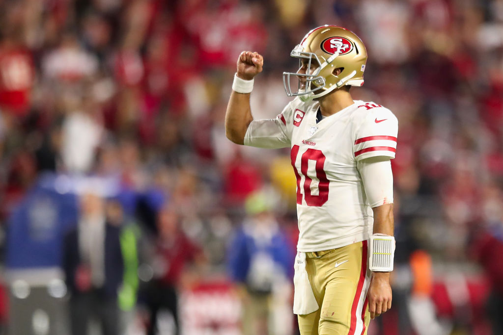 Jimmy Garoppolo led the 49ers to the Super Bowl, but will he be the NFL Comeback Player of the Year for 2019?