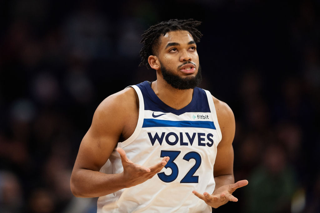 Karl-Anthony Towns is the subject of frequent trade rumors, and he has the perfect response when someone mentions it to him.