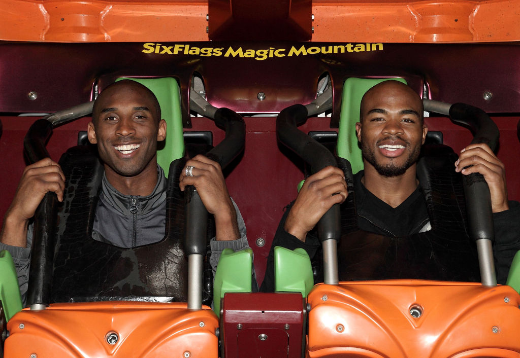 Kobe Bryant and Corey Maggette