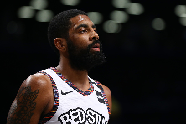 Kyrie Irving during a game for the Brooklyn Nets