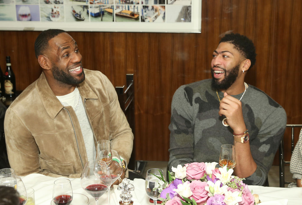 Michael Jordan helped make the first 'Space Jam' movie a smash hit, and LeBron James and Anthony Davis are hoping to recreate that magic in 2021.