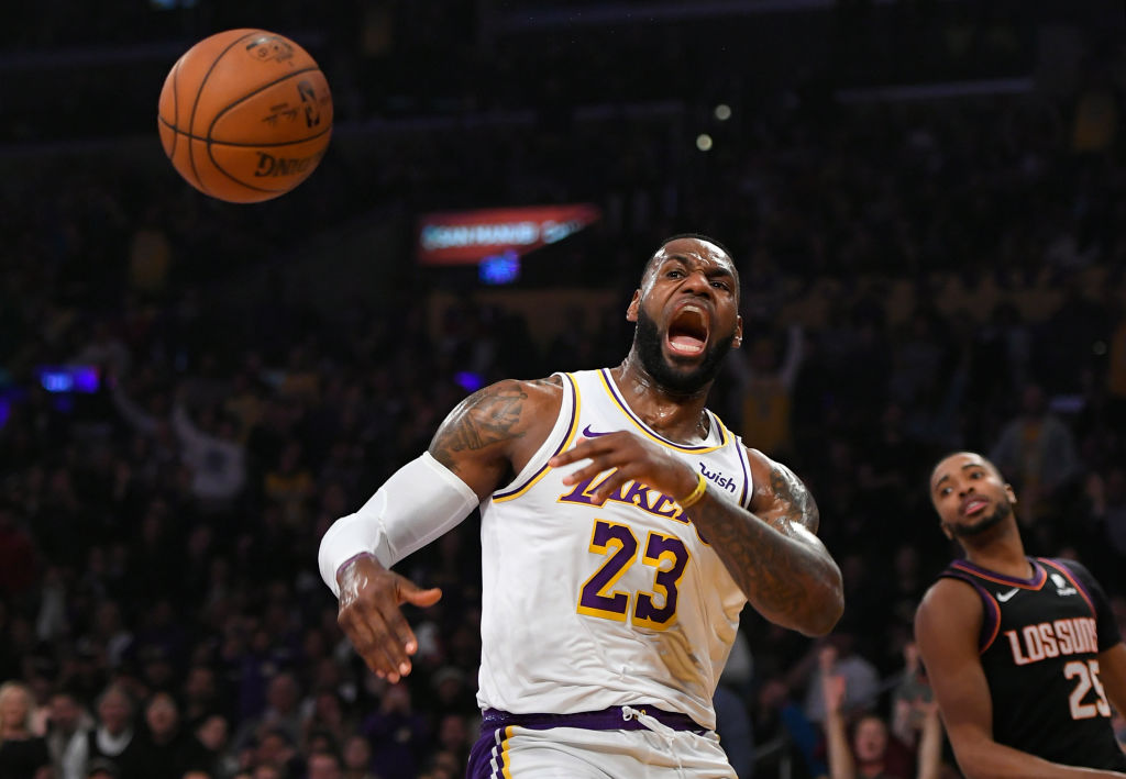 Lebron James Hits Nothing but Net With His Latest Idea