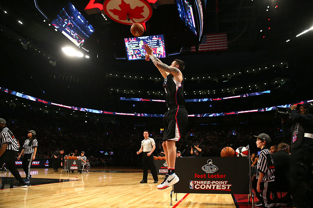 The NBA Three-Point Contest will be a bit different this year.