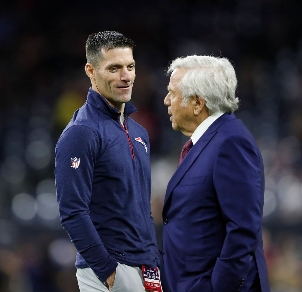 Nick Caserio doesn't play or coach, but he might be the most important member of the New England Patriots' organization.