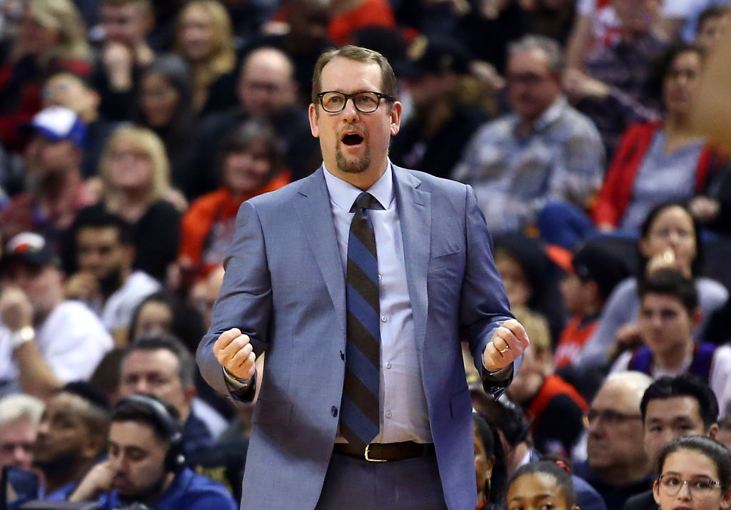 Nick Nurse is leading the Toronto Raptors to another successful season.