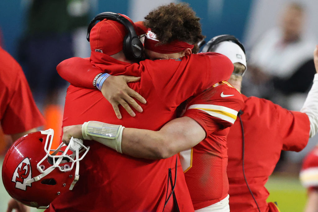 How badly did Patrick Mahomes want to win a Super Bowl title for Andy Reid.