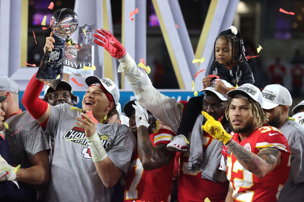 Super Bowl 54 MVP Chiefs quarterback Patrick Mahomes