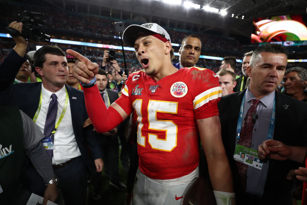 After winning the Super Bowl, Chiefs quarterback Patrick Mahomes will be going to Disney World.