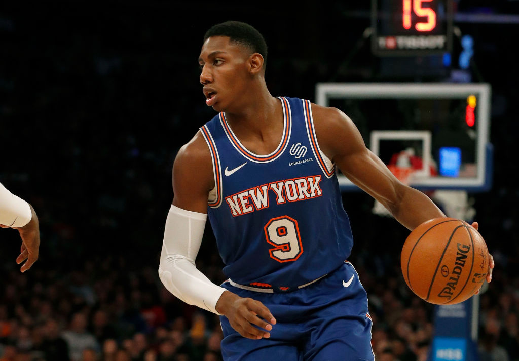 Is Knicks Rookie R.J. Barrett Ambidextrous?