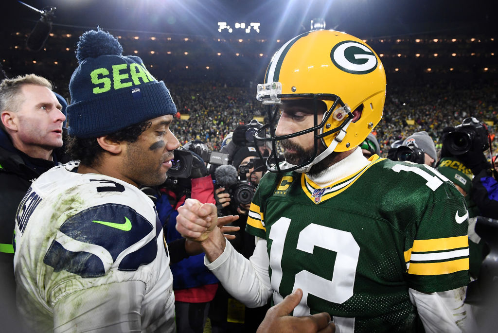 Russell Wilson Aaron Rodgers