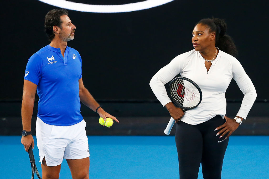 Serena Williams' coach, Patrick Mouratoglou, was fully honest about where his pupil and star tennis player stands two decades into her career.