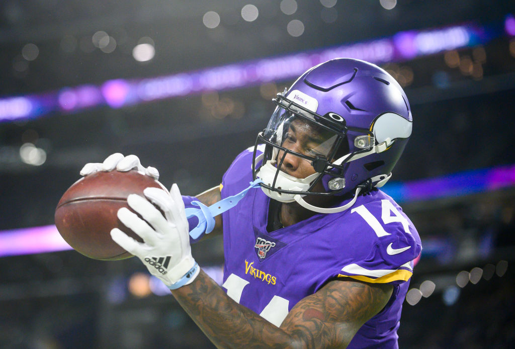 What Is Stefon Diggs Really Telling the Vikings Online?