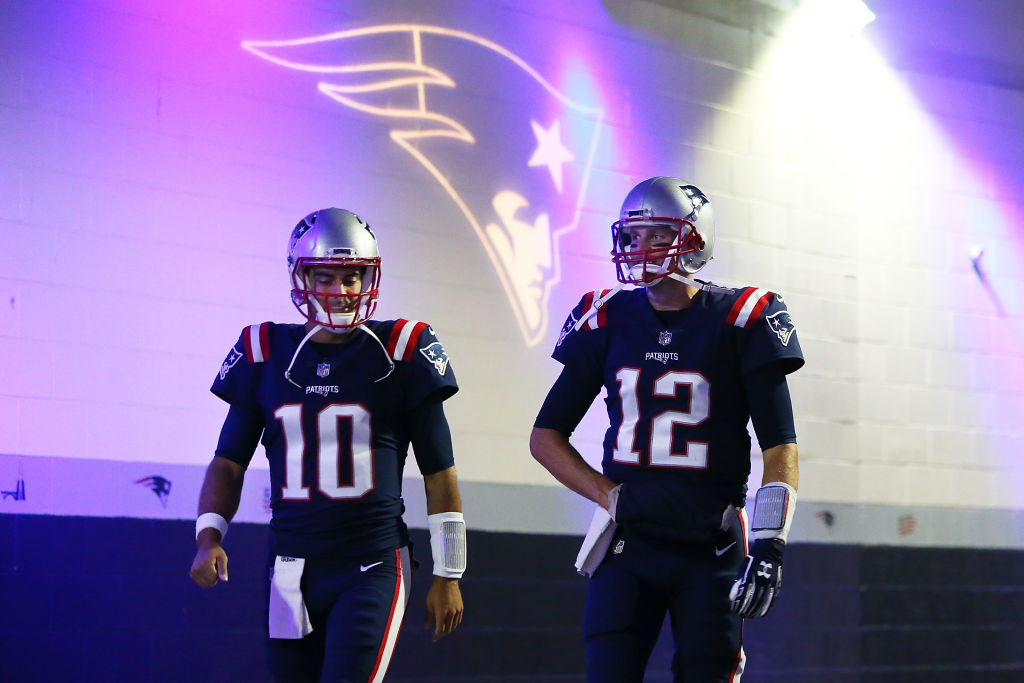 Tom Brady sent his former back-up, Jimmy Garoppolo, a text ahead of the Super Bowl.