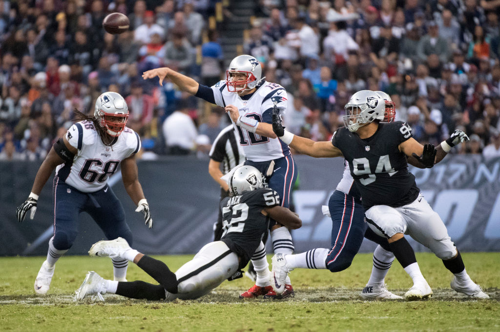 The Raiders are willing to open their checkbook to sign Tom Brady/