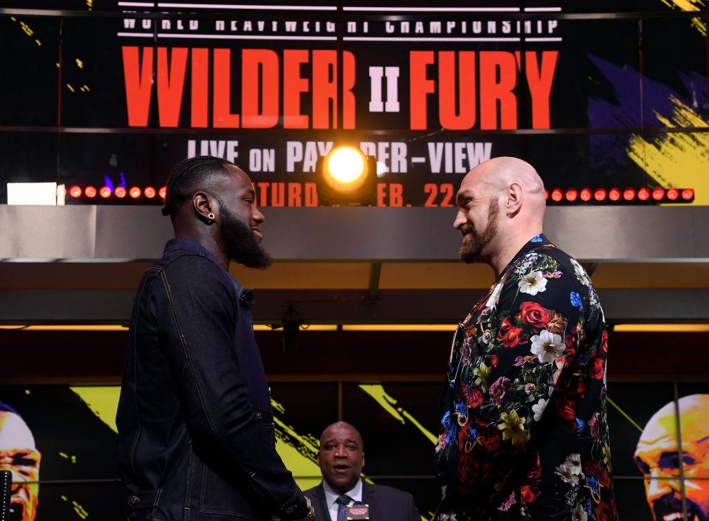 Wilder vs. Fury