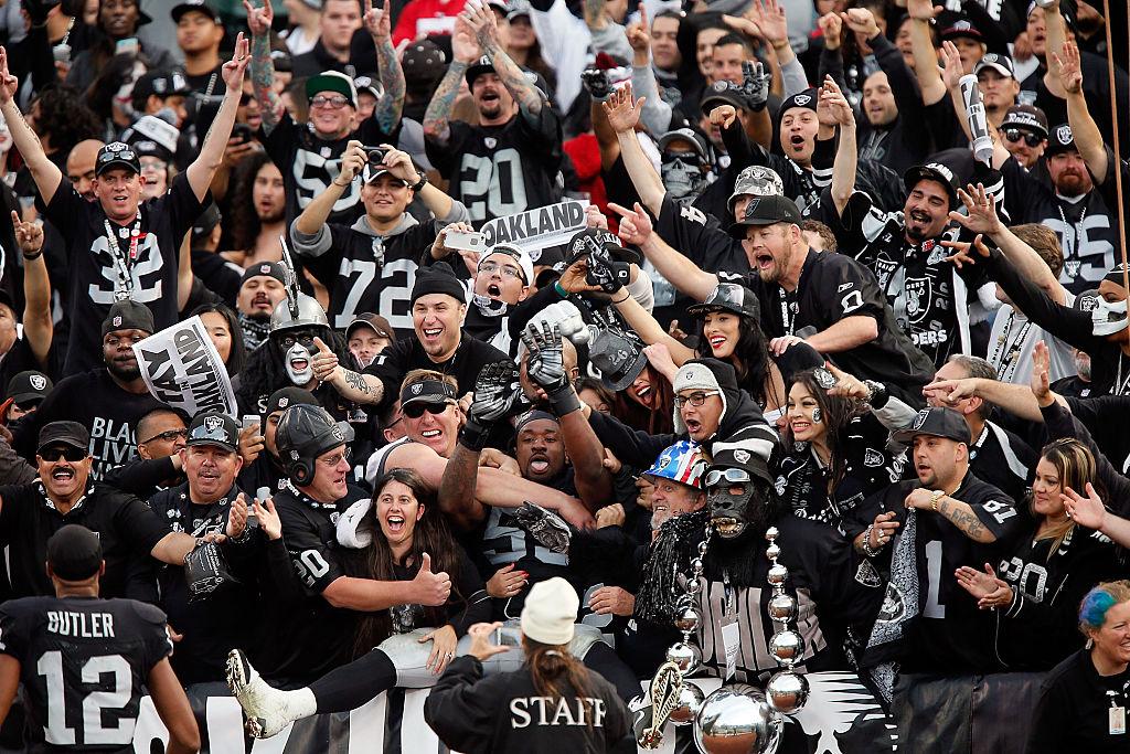 Oakland Raiders fans.