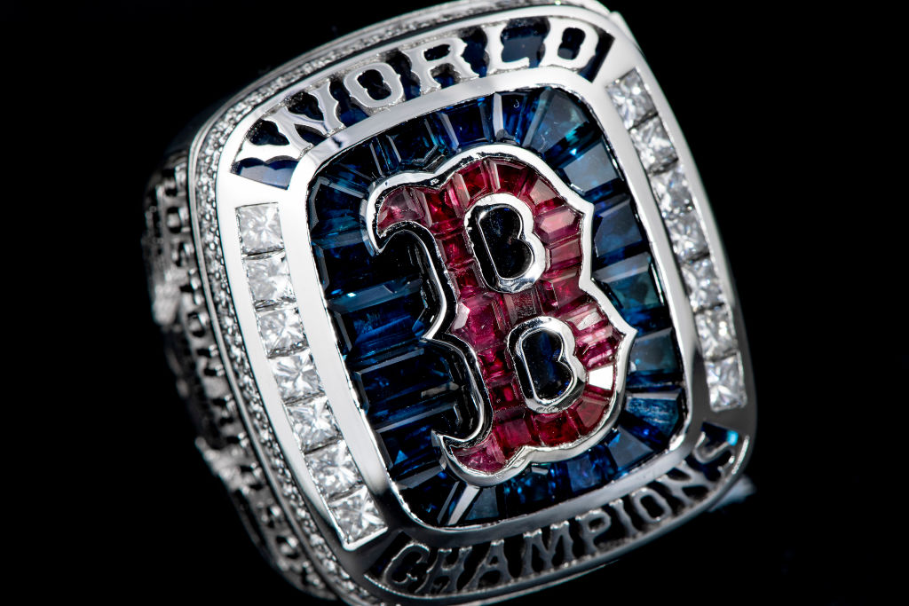Boston Red Sox 2018 World Series ring