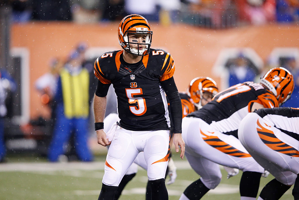 Cincinnati Bengals quarterback AJ McCarron played well in his introduction to the NFL playoffs. The Bengals' 2016 loss to Pittsburgh is more remembered for teammate Vontaze Burfict's illegal hits, though.