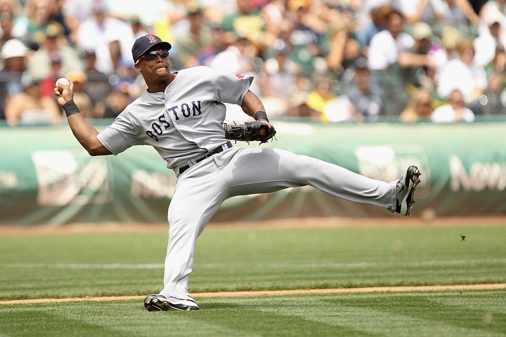 Adrian Beltre revived his career when he played for the Boston Red Sox in 2010.