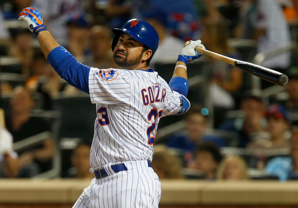 Veteran first baseman Adrian Gonzalez hit .237 with six home runs and 26 RBIs in 54 games for the 2018 New York Mets.