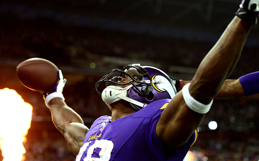 Minnesota Vikings running back Adrian Peterson didn't need to worry about the Madden Curse in 2013