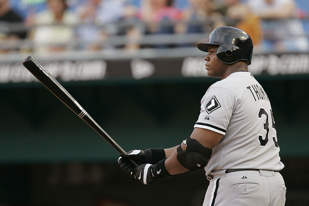 Frank Thomas carried 'The Big Hurt' moniker throughout his career, and it might be one of the best MLB nicknames of all time.