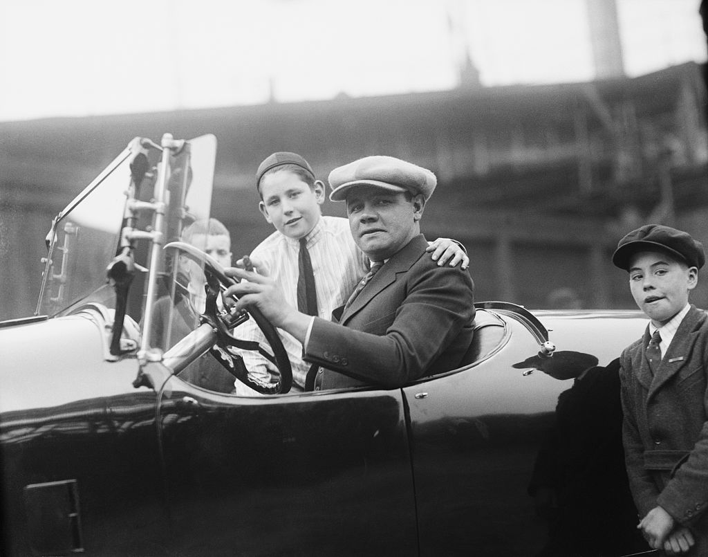 Babe Ruth spent time in jail for driving violations.