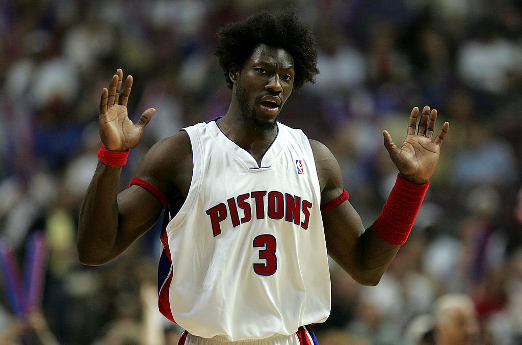 Ben Wallace is still working for the Detroit Pistons, even in retirement.