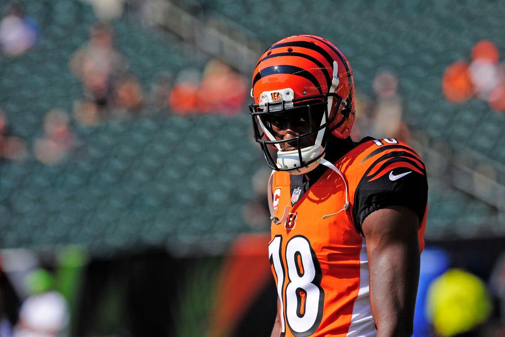 Bengals wide receiver AJ Green