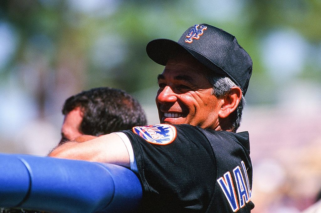 Bobby Valentine managed the New York Mets from 1996 to 2002.