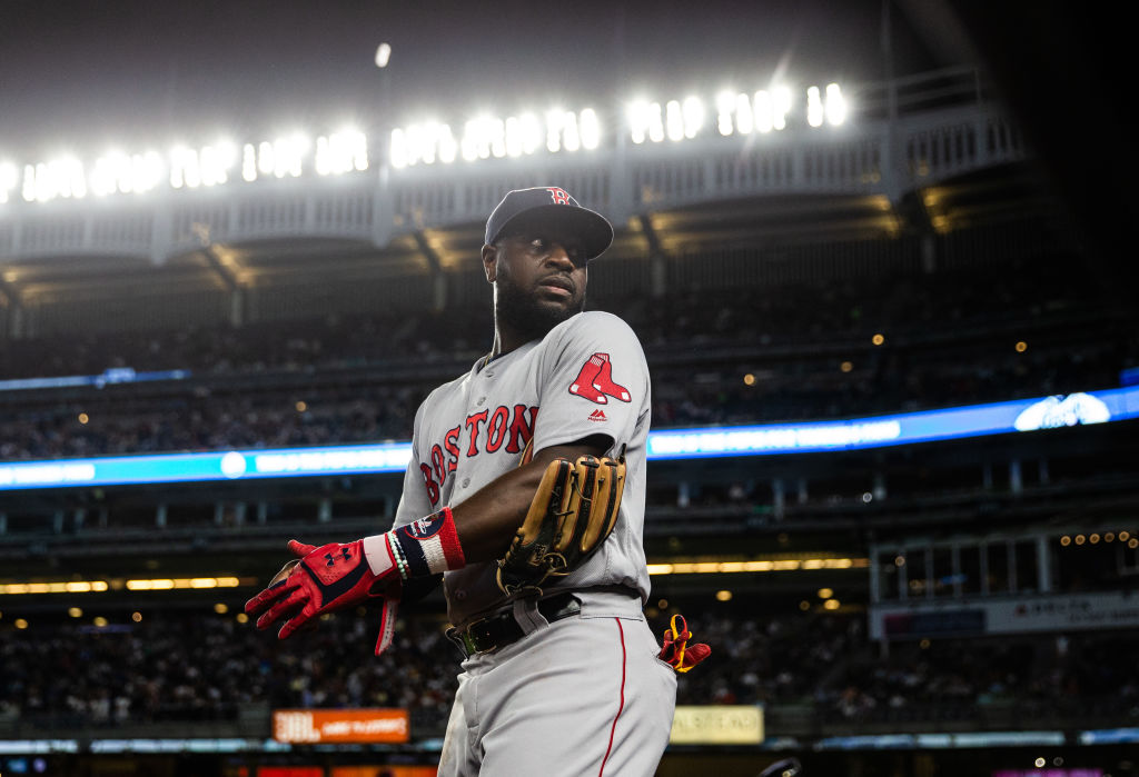 Brandon Phillips played nine games for the Boston Red Sox in 2018.