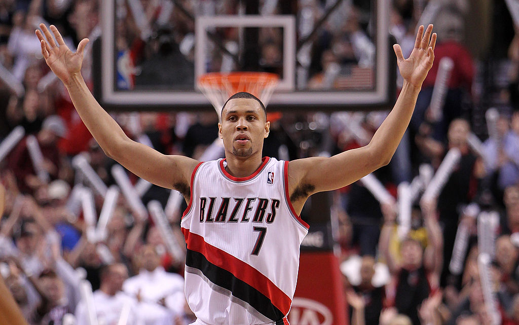 Brandon Roy emerged as an NBA star with the Trailblazers before a degenerative knee injury ended his career early.