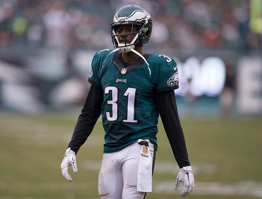 Conrnerback Byron Maxwell of the Philadelphia Eagles