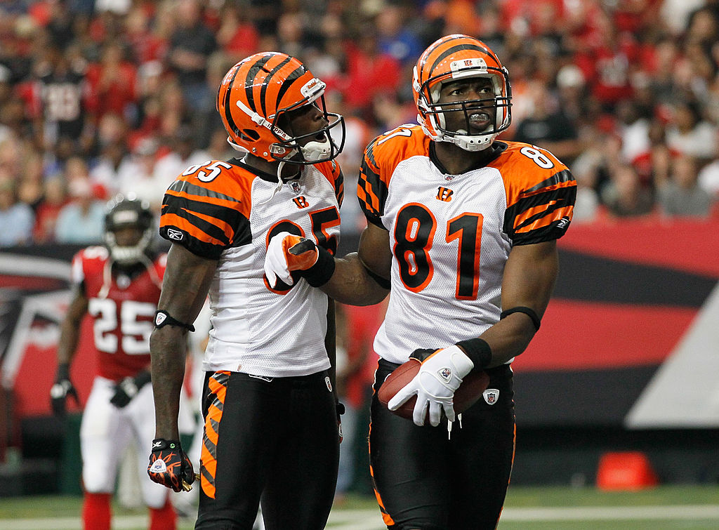Chad Johnson and Terrell Owens on Cincinnati Bengals