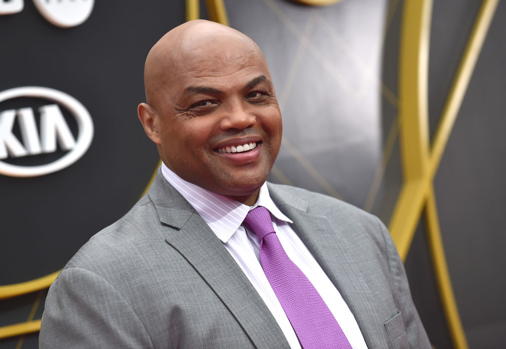 NBA Hall of Famer Charles Barkley