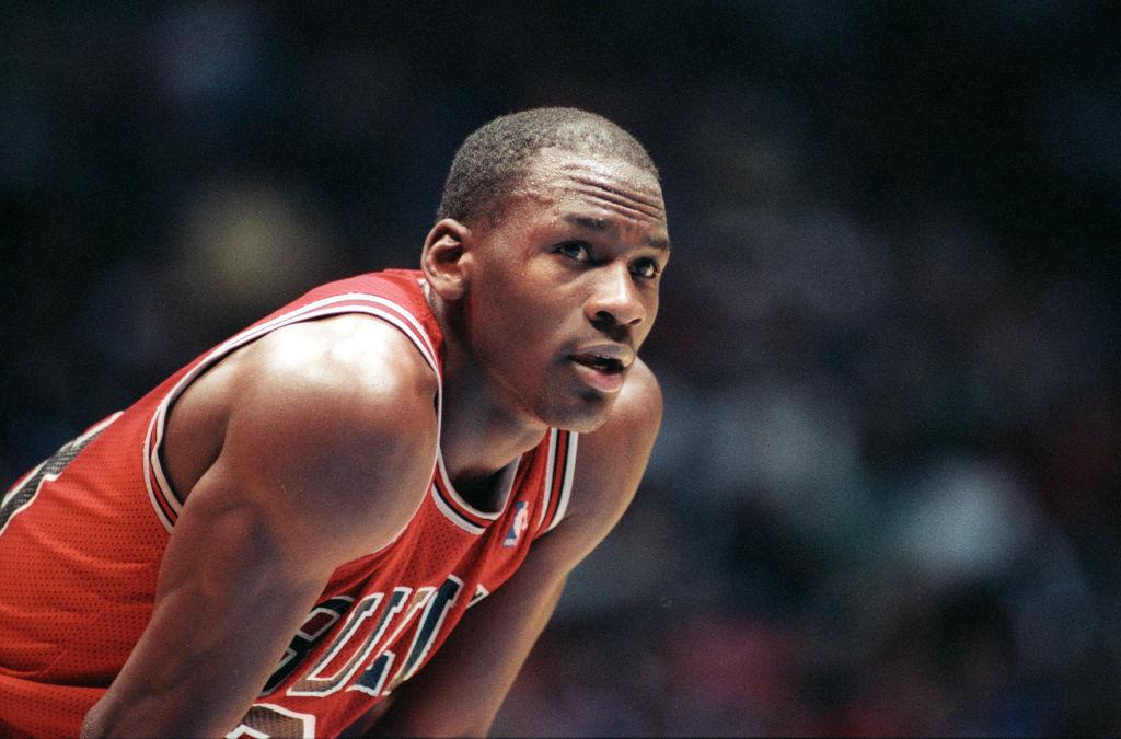 Chicago Bulls All-Star forward Michael Jordan