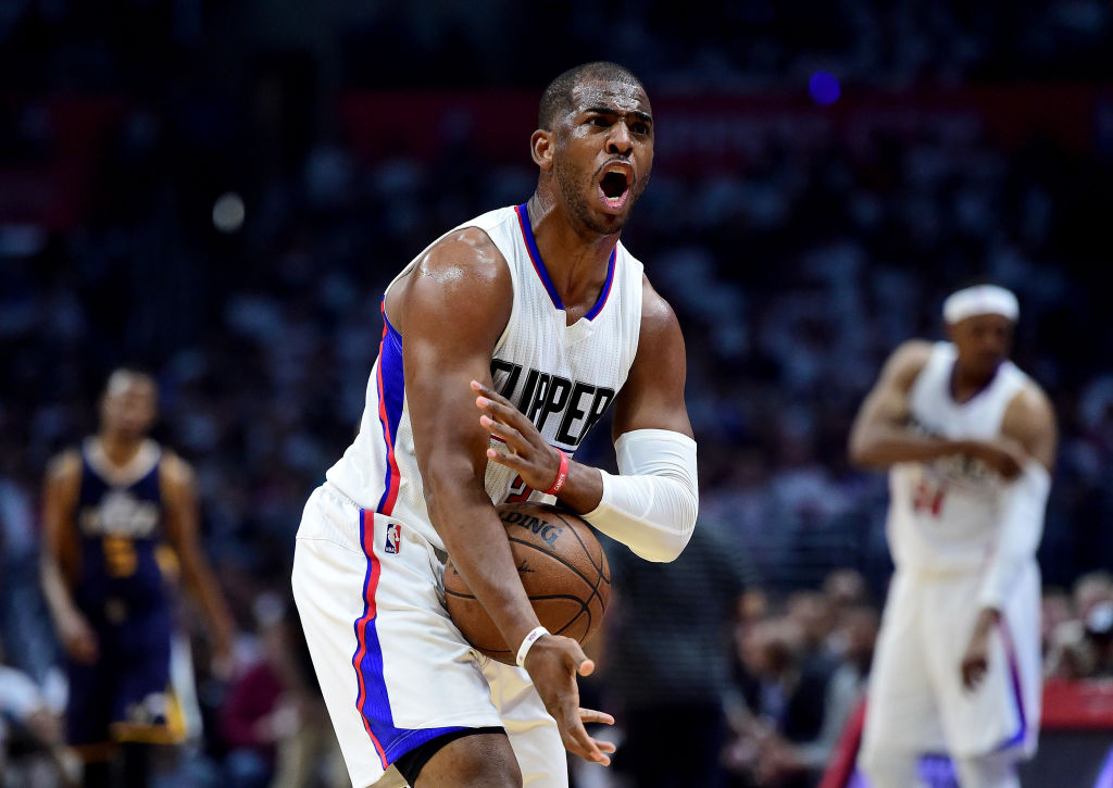 Chris Paul Once Purposely Tossed an Airball From the Foul Line and Walked off the Court