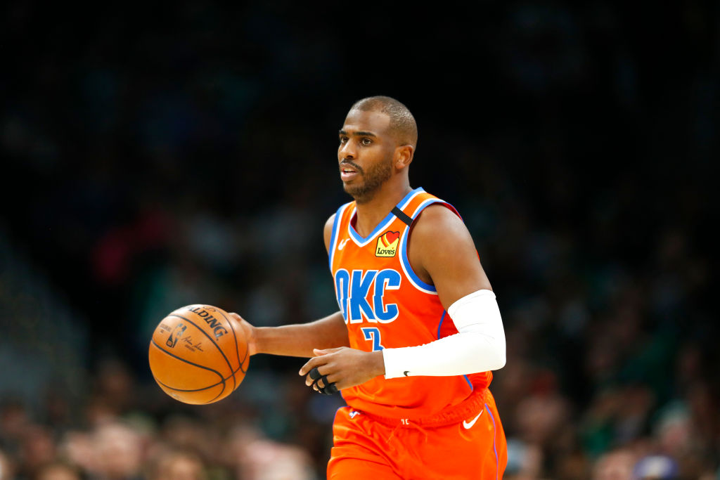 Chris Paul has enjoyed a resurgent season with the Oklahoma City Thunder.