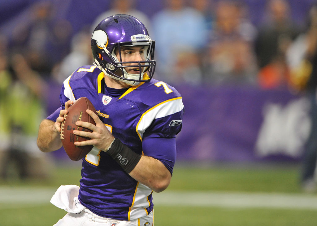 Former Florida State quarterback Christian Ponder wasn't considered a first-round prospect when the Minnesota Vikings drafted him in 2011.