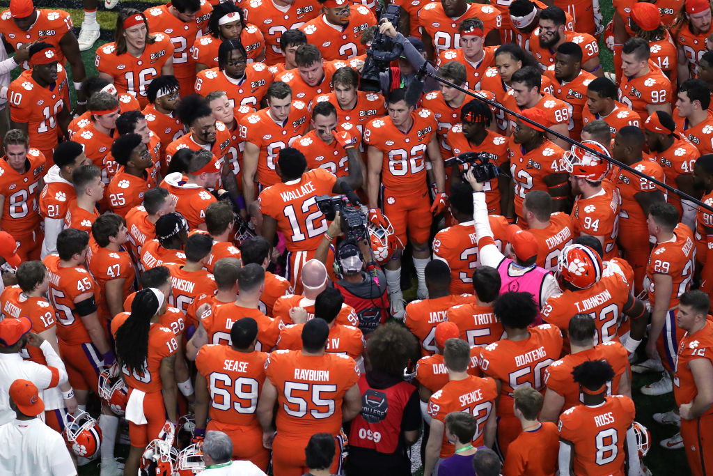 Clemson's football team hasn't had an arrest in over four years.