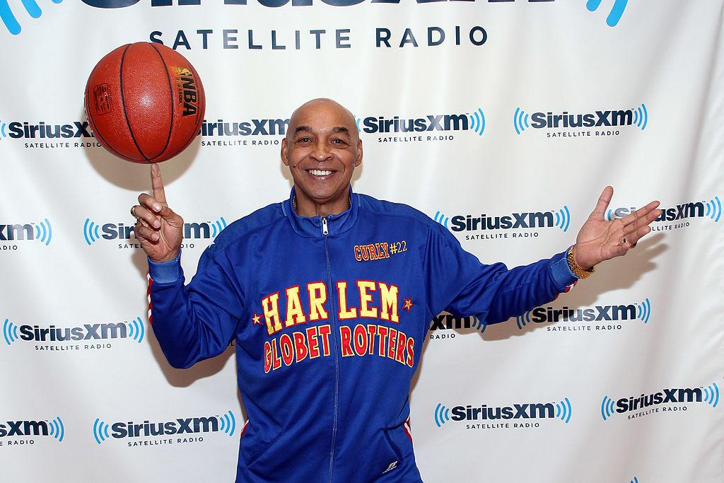 Harlem Globetrotter Curly Neal